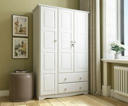 100% Solid Wood Grand Wardrobe/Armoire/Closet by Palace Impo