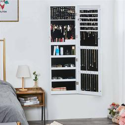 Fashionable Lockable Jewelry Cabinet Armoire Organizer No As