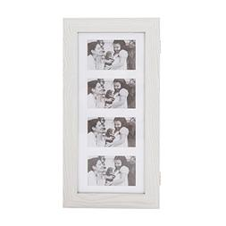 Bonnlo Photo Frames Jewelry Armoire Wall Mounted,4 Picture D