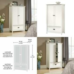 Sauder 419451 Armoire, Wardrobe, Furniture County Line, Soft