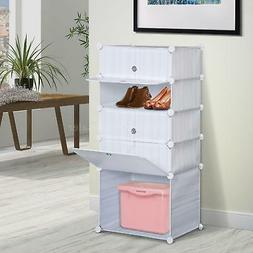 5 Drawer Portable Wardrobe Children Dresser Cloth Closet Bed