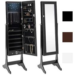 Best Choice Products 6-Tier Full Length Standing Mirrored Lo