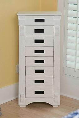 Hives and Honey 6008-349 Mission Standing Jewelry Armoire, W