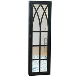"""FirsTime 81004 Rustic Arch Jewelry Armoire, 47"""" x 14"""" x 3"""","""