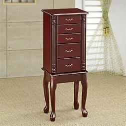 Coaster Home Furnishings 4-drawer Jewelry Armoire Merlot