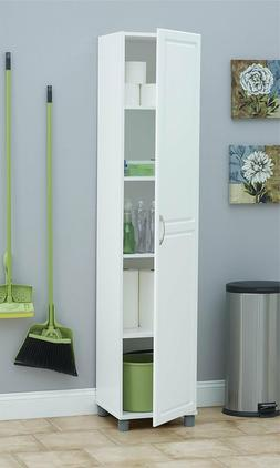 """Ameriwood Home SystemBuild Kendall 16"""" Storage Cabinet, Whit"""