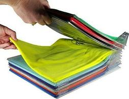 EZSTAX Closet Organizer and Shirt Folder | Regular Size, 20-