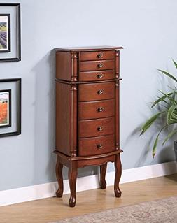 Mahogany Jewelry Armoire by Coaster Furniture