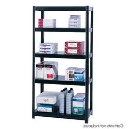 "Safco Products 5245BL Boltless Steel Shelving 36""W x 18""D x"