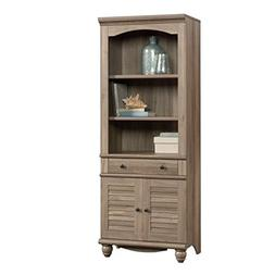 "Sauder 419911 Harbor View Library with Doors L: 27.21"" x W:"