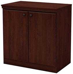 South Shore 7246722 Small 2-Door Storage Cabinet with Adjust