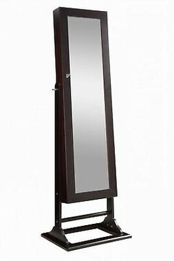 Abington Lane Standing Jewelry Armoire - Organizer and Full