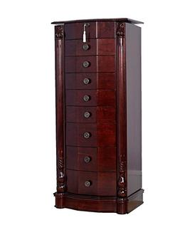 Hives and Honey 'Florence' Jewelry Armoire, Antique Cherry