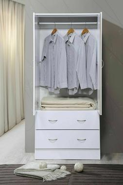Armoire Wardrobe Closet Bedroom Clothes Organizer Storage Ca