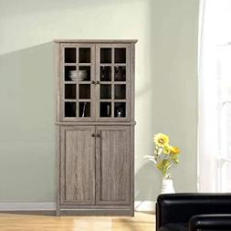 Baby Armoire Wardrobe Closet Tall Narrow Corner Storage Cabi