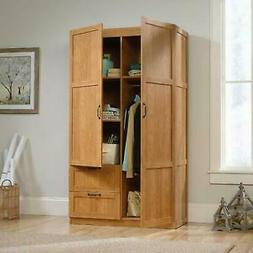 armoire wooden wardrobe storage cabinet closet drawer