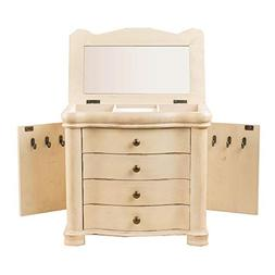 Hives and Honey 'SHELBY' Ivory Jewelry Chest Jewelry Box