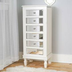 Hives and Honey Ava Jewelry Armoire - White