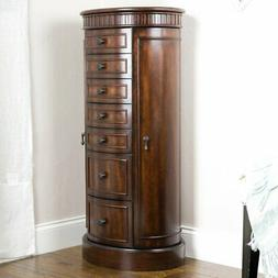Hives and Honey Bailey Jewelry Armoire - Walnut