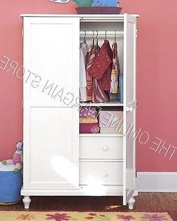 Pottery Barn Kids Berkeley Armoire Bed Cabinet Dresser HONEY