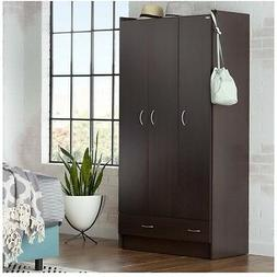 Black Armoires And Wardrobes Clothing Organizer Dresser Stor