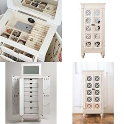 Cadence Jewelry Armoire Century White Hives and Honey