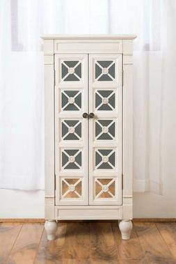 Celene Jewelry Armoire Century White by Hives and Honey