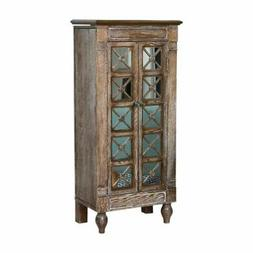 Hives and Honey Celine Ceruse Oak Jewelry Armoire - Oak