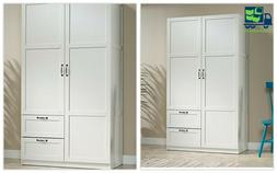 Classic Armoire for home Select Wardrobe in White for Clothe