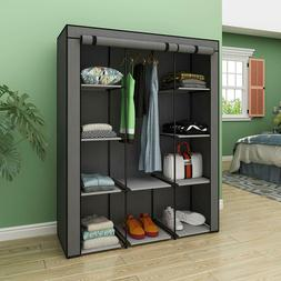 Closet Portable Wardrobe Bedroom Armoires Clothes Storage Ca