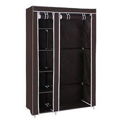 "SONGMICS 43"" Portable Clothes Closet Wardrobe with Non-Woven"