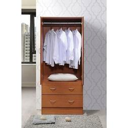 Closet Storage Cabinet Organizer Wardrobe Clothes Bedroom Wo