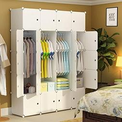 MAGINELS Closet Wardrobe Armoire Cube Storage Organizer for