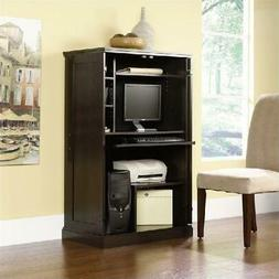 Workstation Desk Computer Armoire Hutch Den Cabinet Small Ho