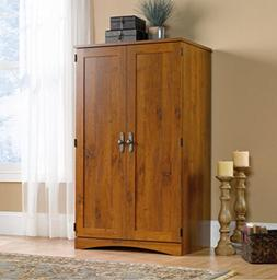 Computer Armoire Desk Space-saving Cabinet Conceals Monitor,