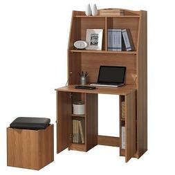 Computer Armoire Pullout Computer Desk with Storage Space -