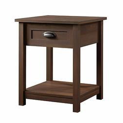 County Line 1 Drawer Nightstand - Rum Walnut