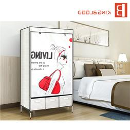 Customized foldable <font><b>armoire</b></font> wardrobe cab