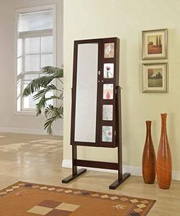 Artiva USA Deluxe Double Doors Jewelry Armoire with Chevor M