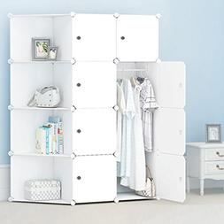 DIY Portable Folding Column Wardrobe, Clothes Close Modular