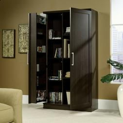Sauder Double Door Storage Cabinet, Large, Dakota Oak