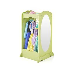 Guidecraft Dress Up Cubby Center – Light Green: Kids Armoi