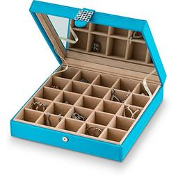 Earring organizer Holder -25 Slot Jewelry Box / Case / Holde