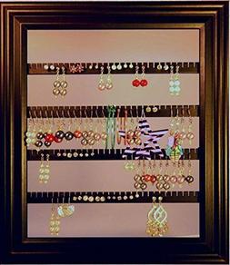 """Earring Holder - Holds 75 pair - Made with an 8"""" x 10"""" Pictu"""