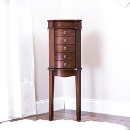 Hives and Honey 6008-578 Erin Armoire with Vanity Mirror and