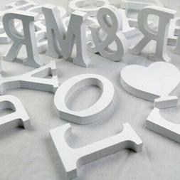 Freestanding Large 26 Wooden Wood Alphabet Letters/Wall Hang