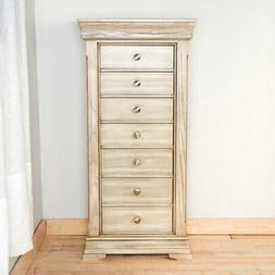 Hives and Honey Haley Jewelry Armoire - Gray Mist