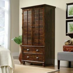 "Sauder 420468 Harbor View Armoire, for TV's Up to 32"", Curad"