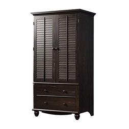 Harbor View Armoire in Distressed Antiqued Paint