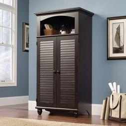 harbor view computer armoire antiqued